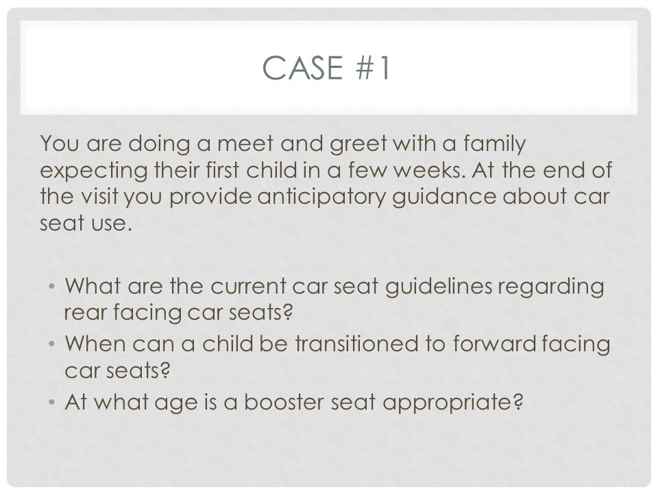 REAR FACING SEATS Place the harnesses in your rear-facing seat in slots that are at or below your baby s shoulders.