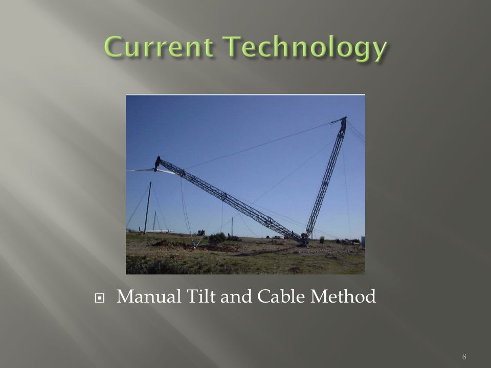  Manual Tilt and Cable Method 8