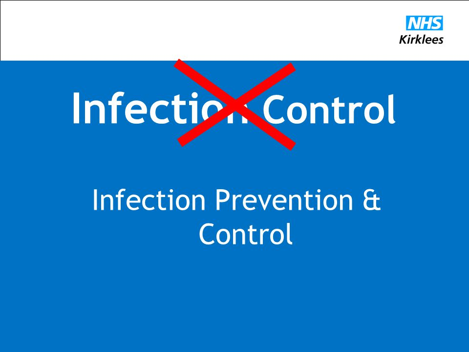 Infection Control Infection Prevention & Control