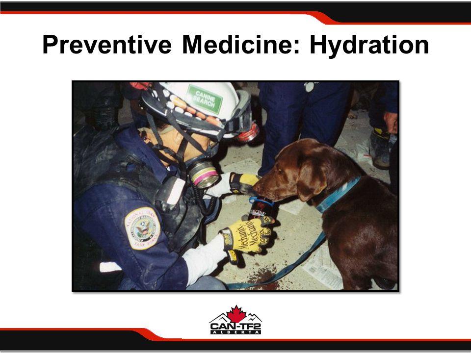 Preventive Medicine: Hydration