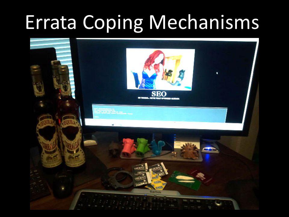 Errata Coping Mechanisms