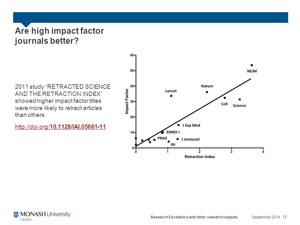 Are high impact factor journals better.