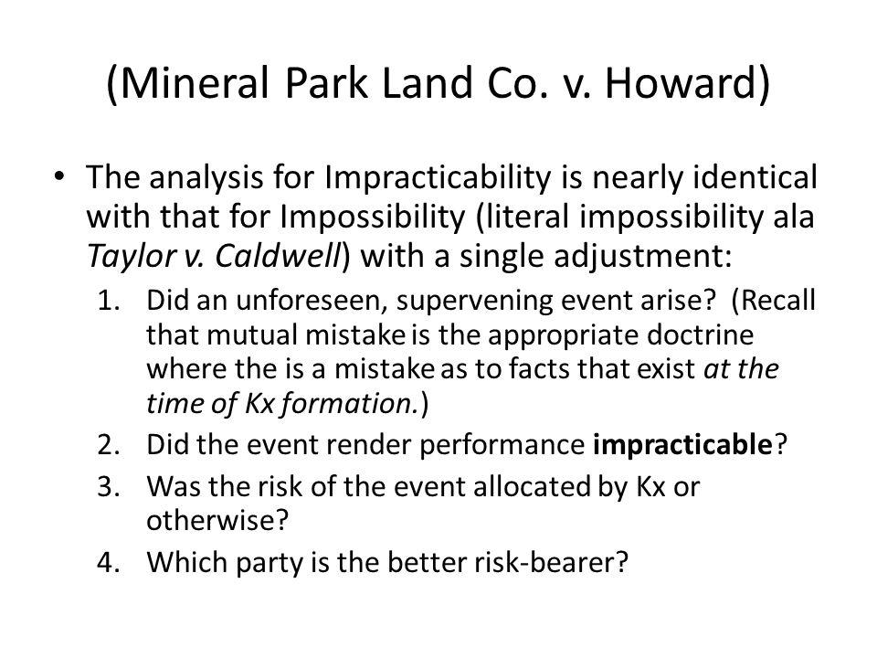 (Mineral Park Land Co. v.