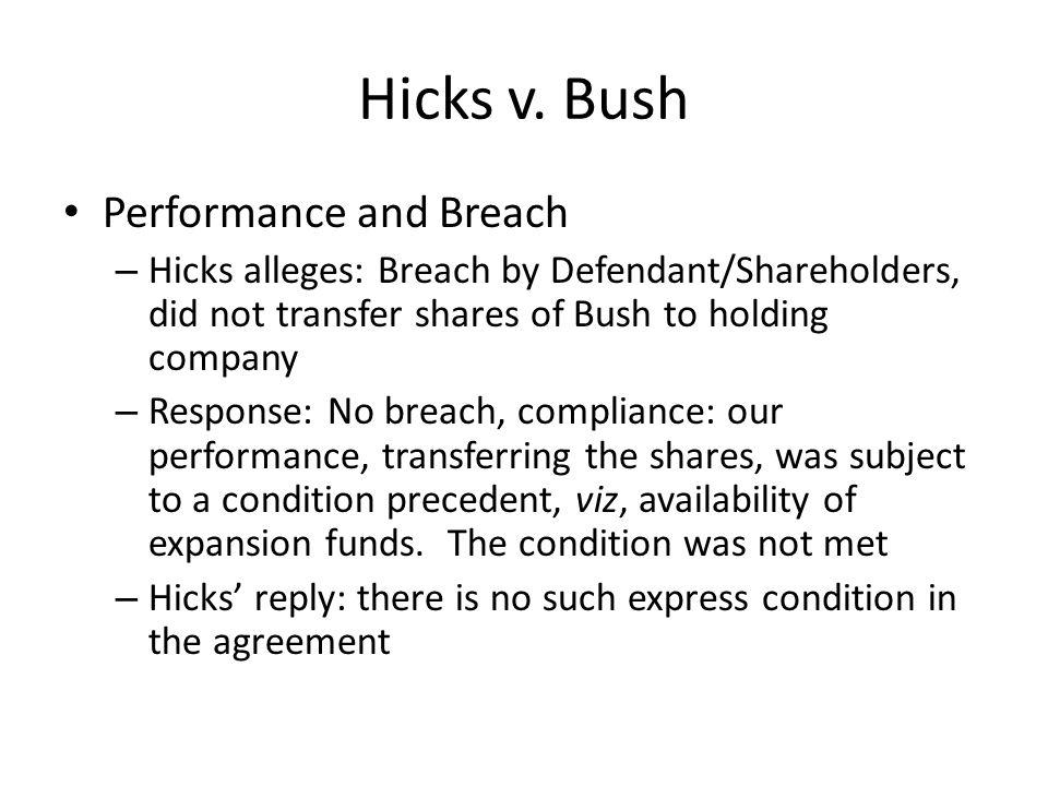 Hicks v.