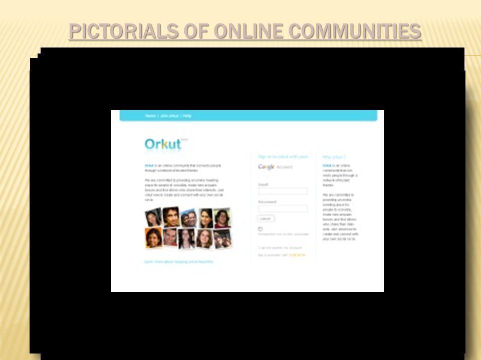 PICTORIALS OF ONLINE COMMUNITIES