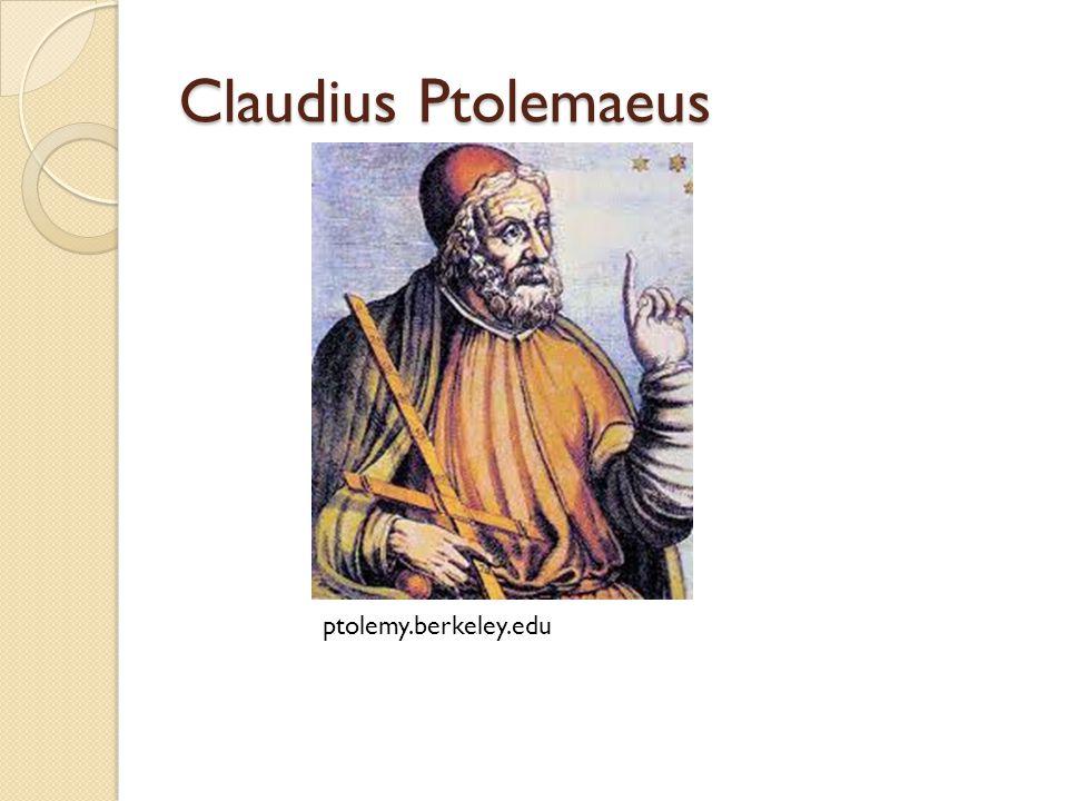 Claudius Ptolemaeus ptolemy.berkeley.edu