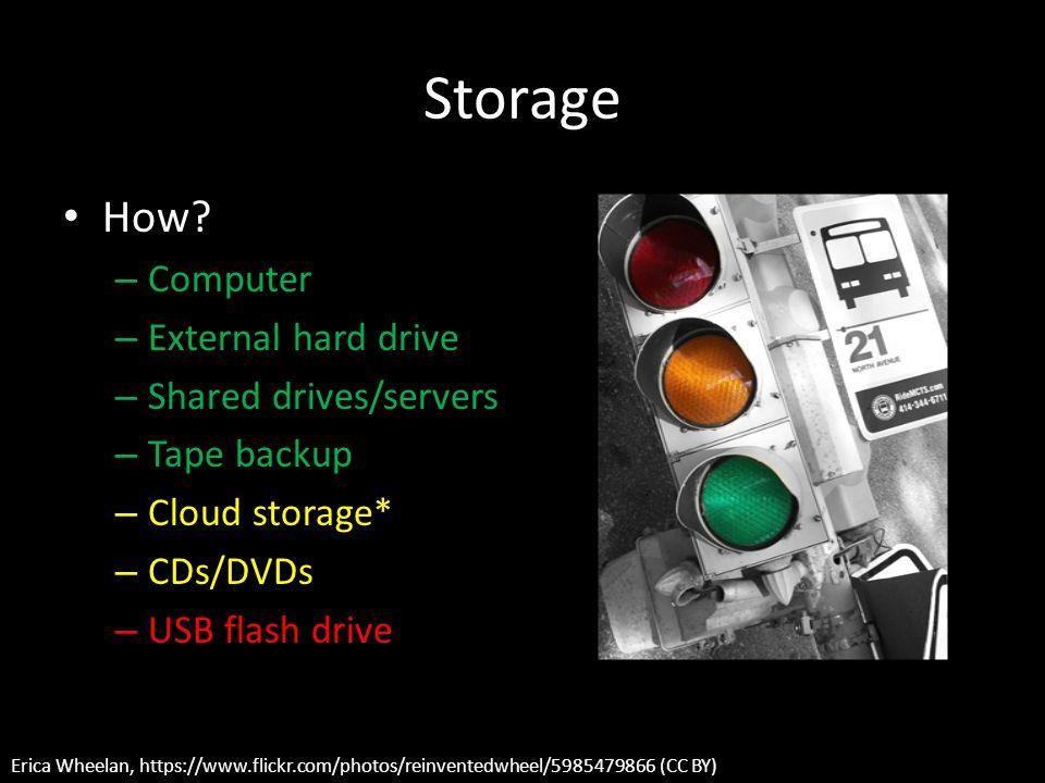 Storage How.