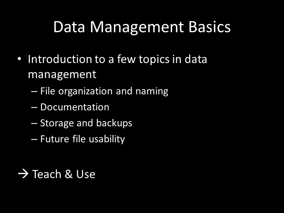 Documentation How.