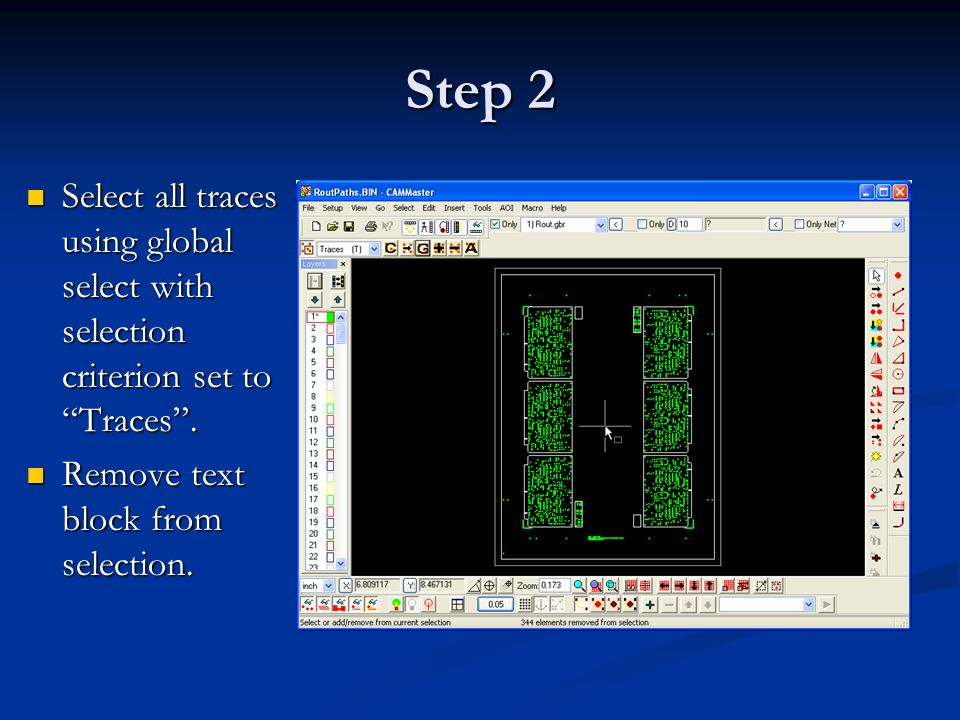 Step 3 Replicate selection to layer 2 using Ctrl+J.