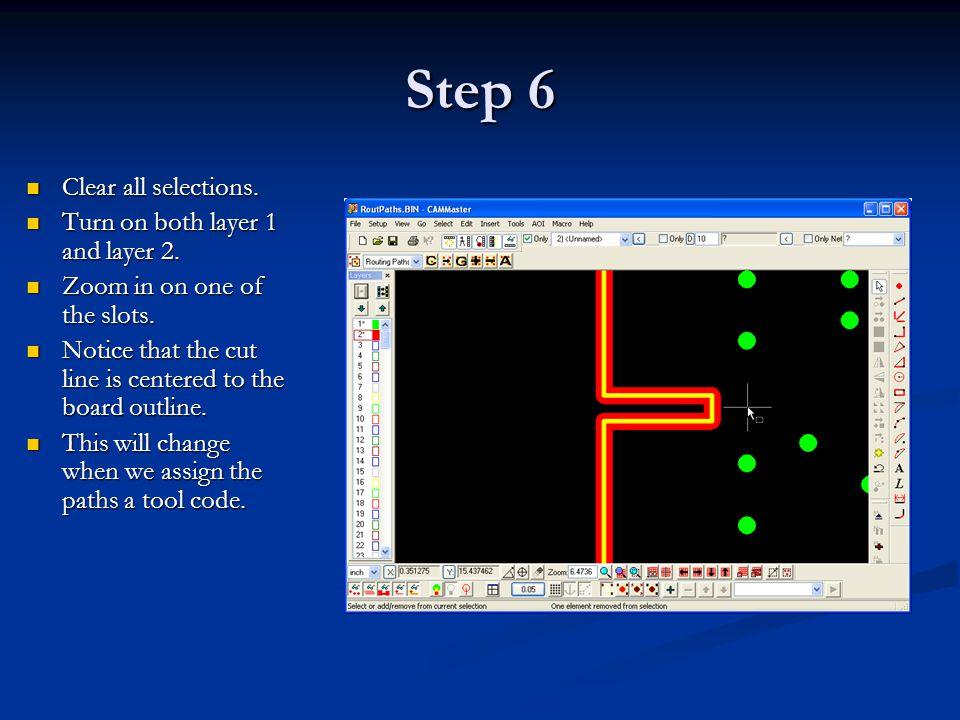 Step 7 Setup the routing path properties.Setup the routing path properties.