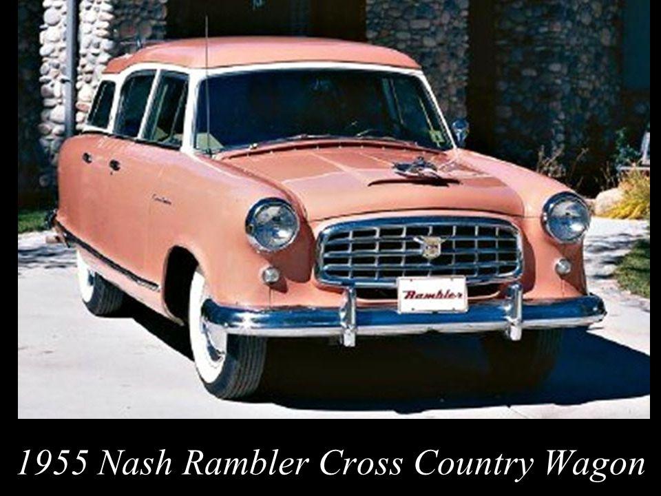 1955 Nash Rambler Cross Country Wagon