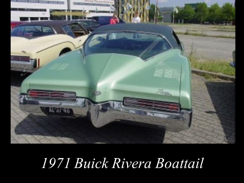 1971 Buick Rivera Boattail