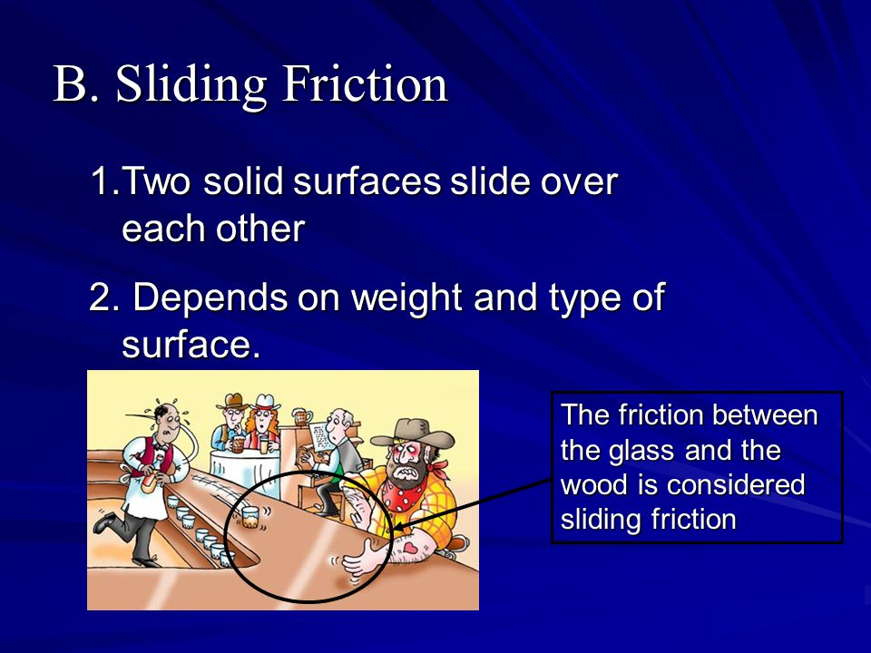 C.Rolling Friction 1. One object rolls over a solid surface 2.