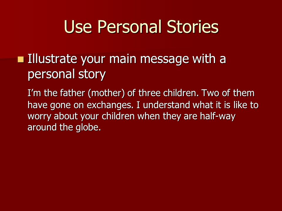 Mistakes to Avoid (1) Avoid sharing with reporters rumors, personal observation or speculation.