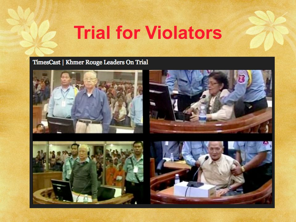 Trial for Violators