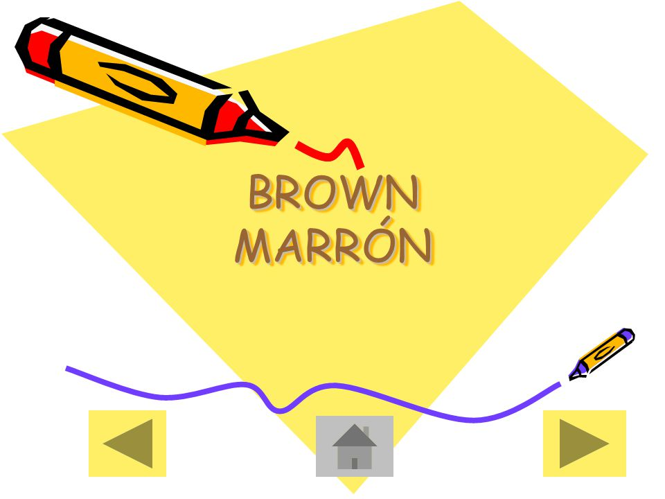 BROWN MARRÓN