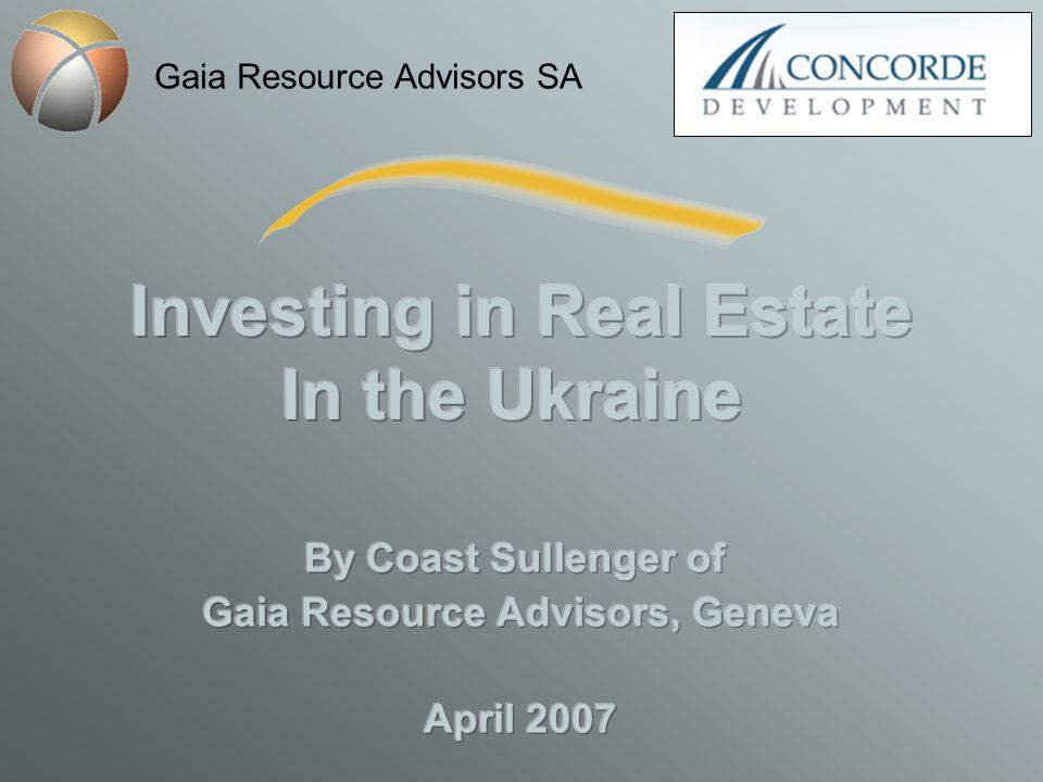 Gaia Resource Advisors SA