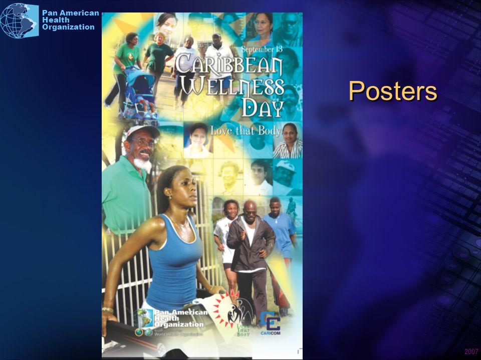 2007 Pan American Health Organization Posters