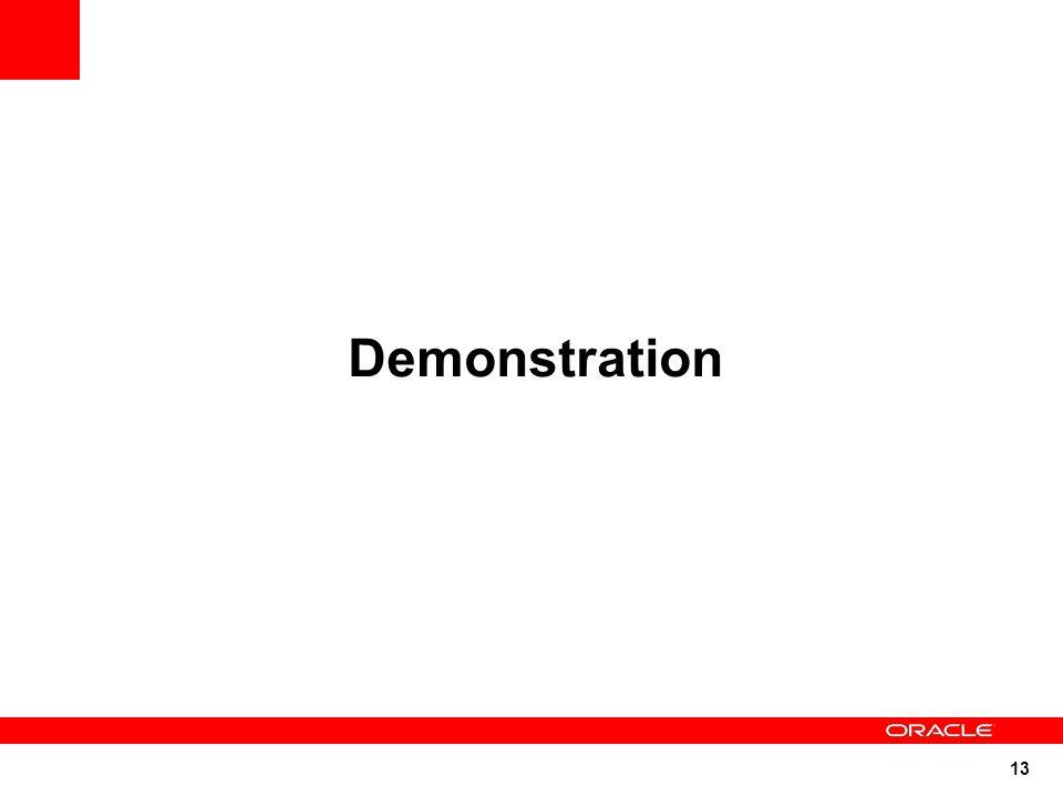 13 Demonstration
