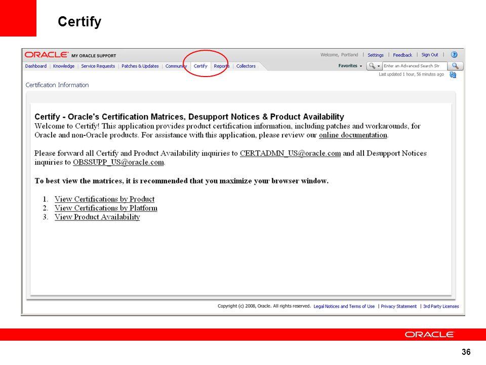 36 Certify