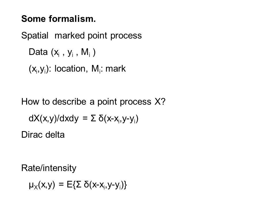 Some formalism.