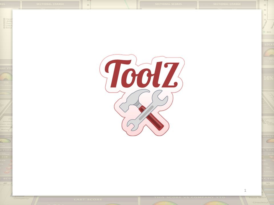 What is ToolZ? 2 Simplified way to program custom reports
