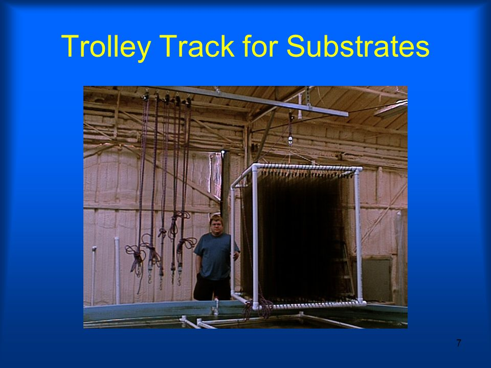 7 Trolley Track for Substrates