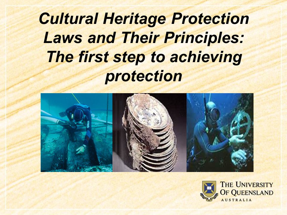 What is cultural heritage.
