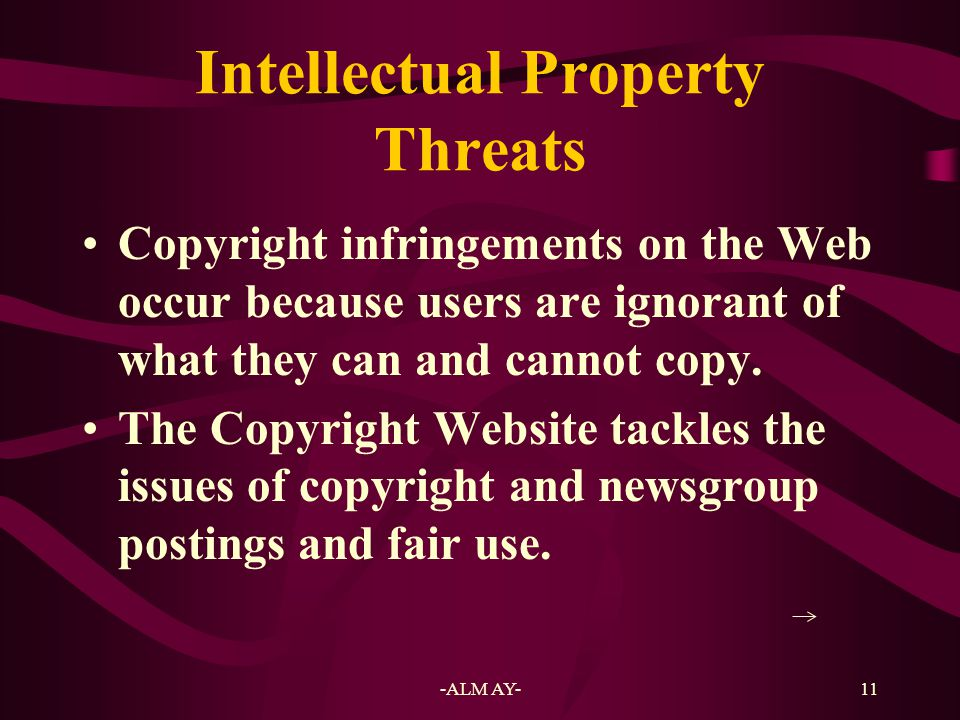12 Music Online Music industry better illustrates the copyright and intellectual property issues.