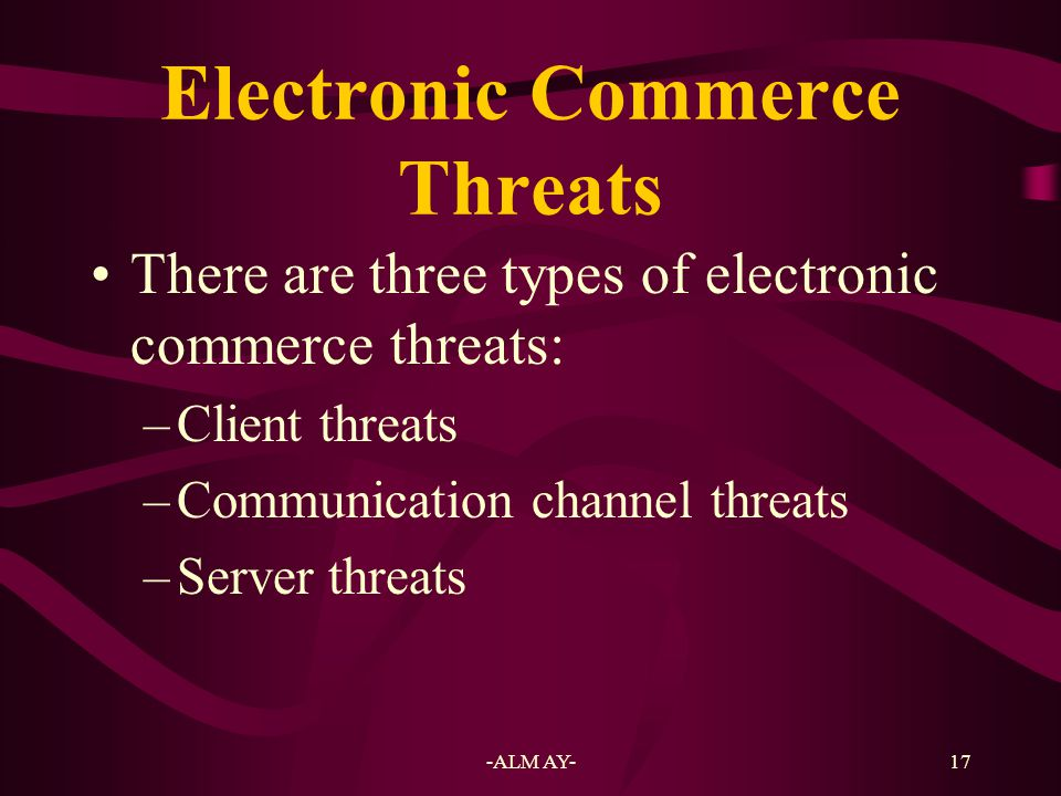 18 Client Threats Web pages were mainly static.