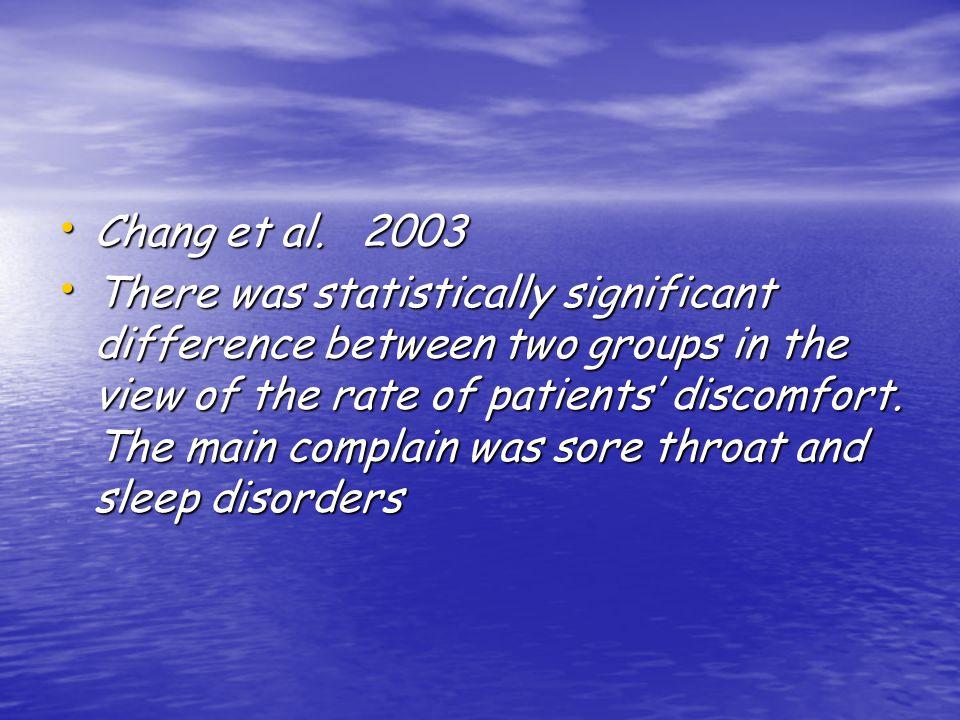 Chang et al. 2003 Chang et al.