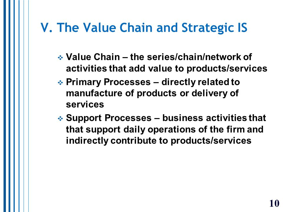 11 II. Reengineering Business Processes