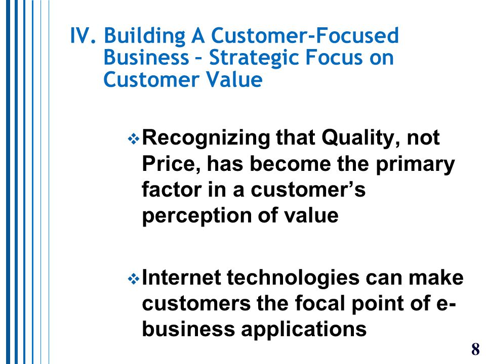 9 V. Porter's Value Chain and Strategic IS