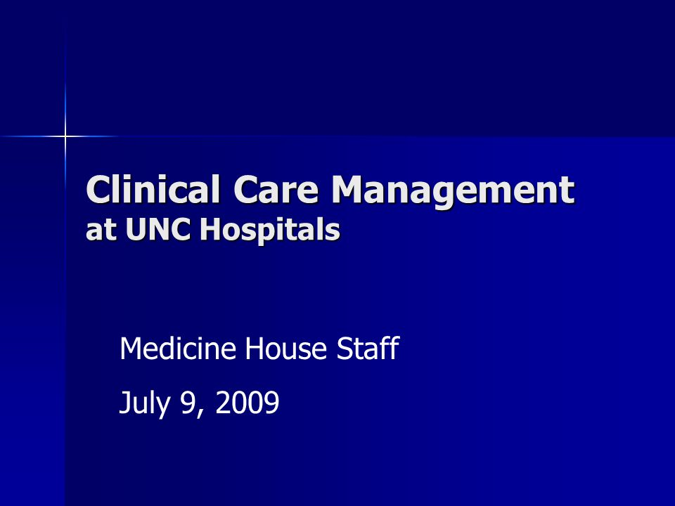 Case Managers (CM) Nurses, Social Workers, other professional specialists Nurses, Social Workers, other professional specialists Assigned by service Assigned by service Facilitators for patient throughput Facilitators for patient throughput Coordinate discharge planning Coordinate discharge planning Expert consultants on disposition settings & regulations Expert consultants on disposition settings & regulations