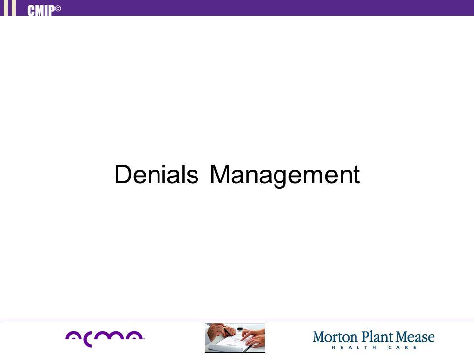 Denials Management