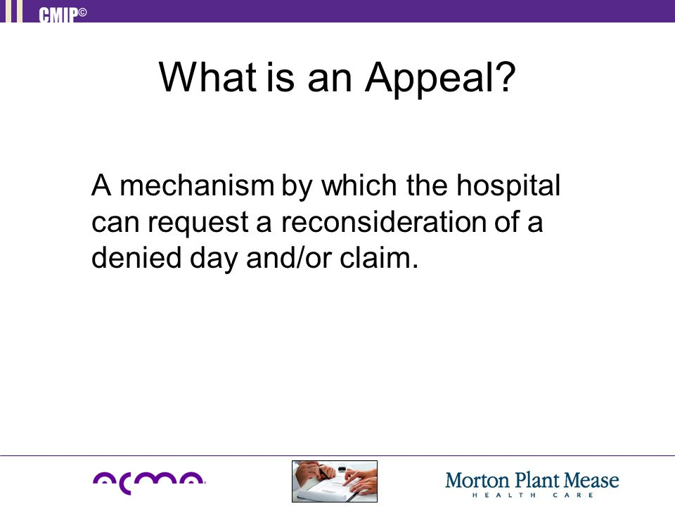 What is an Appeal.
