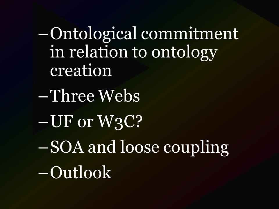 O ntology versus o ntology Philosophy: O ntology as a particular system...