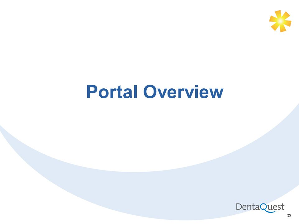33 Portal Overview