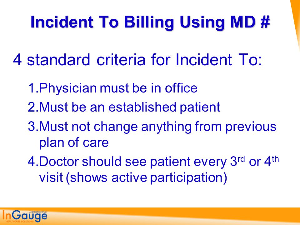 What To Do I'll have a copy of those guidelines posted on my web site and I'll give you a link on medicalofficeblog.com Make sure that you are only getting credit for what the government says you get credit for documenting.