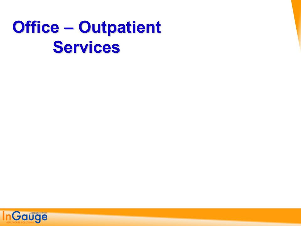 Outpatient Visit New / Consults 99201 - 99245 Requires All Three Key Elements