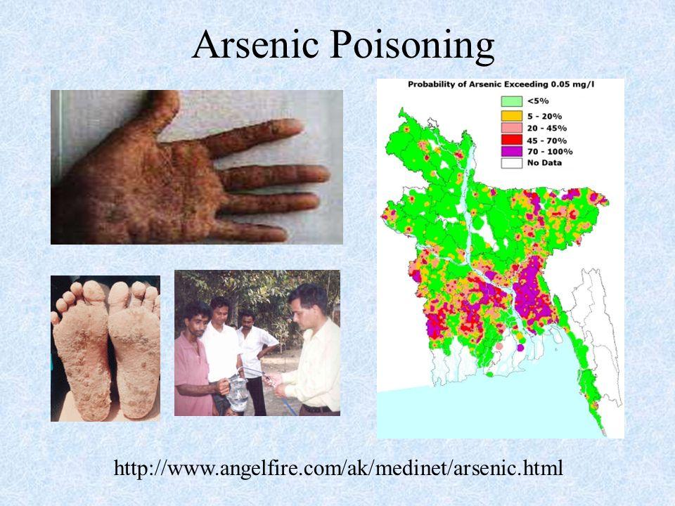 Arsenic Poisoning http://www.angelfire.com/ak/medinet/arsenic.html