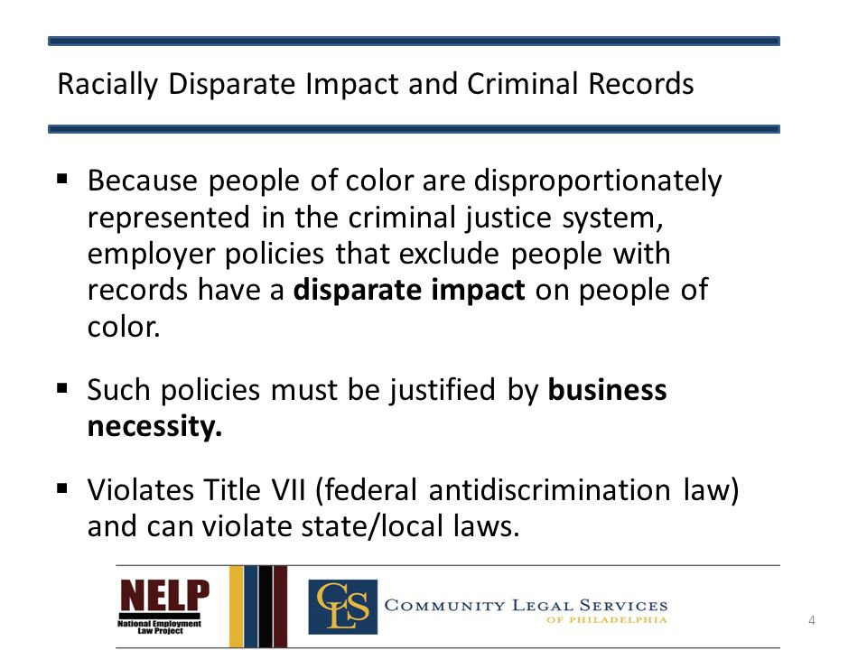 Origins of Title VII Disparate Impact  Adopted by the U.S.