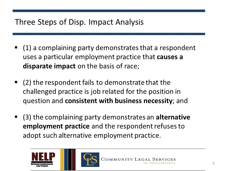 Three Steps of Disp.
