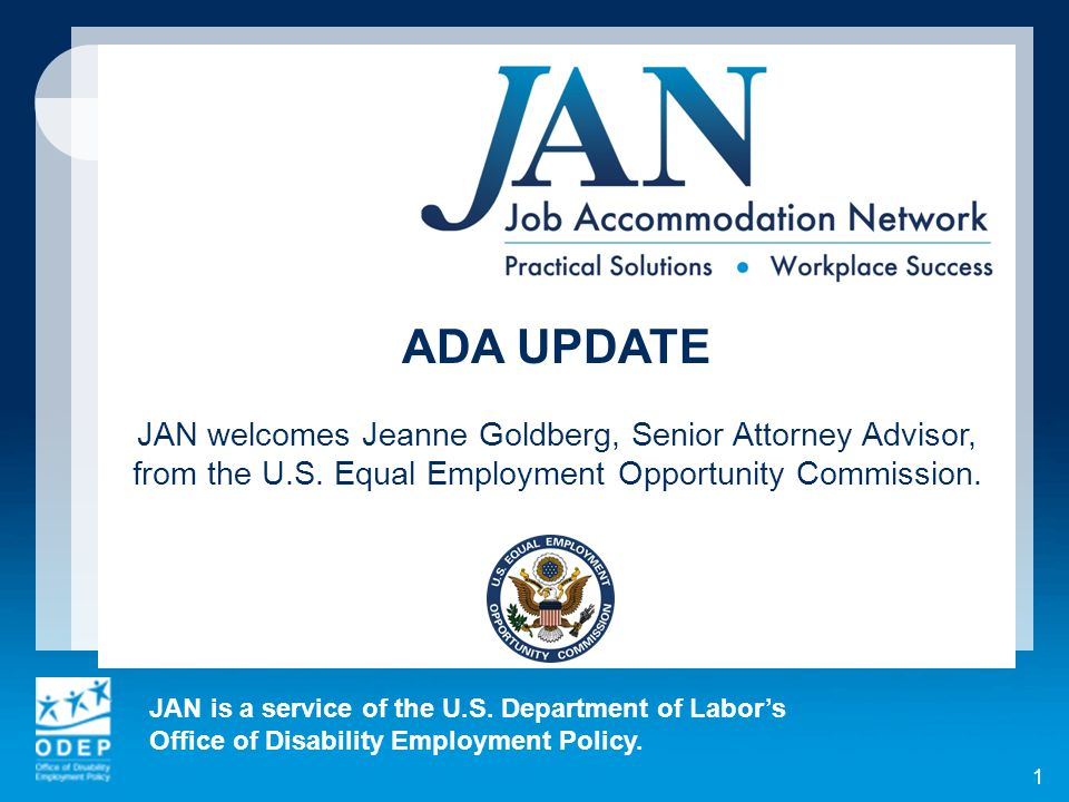 Quick Recap: Basic ADA Provisions That Apply to Individuals with Disabilities  No disparate treatment (actions based on disability permissible if individual not qualified or poses direct threat to safety)  No use of qualification standards that screen out based on disability unless job-related and consistent with business necessity  No harassment  No denial of reasonable accommodation absent undue hardship ADA Update 2