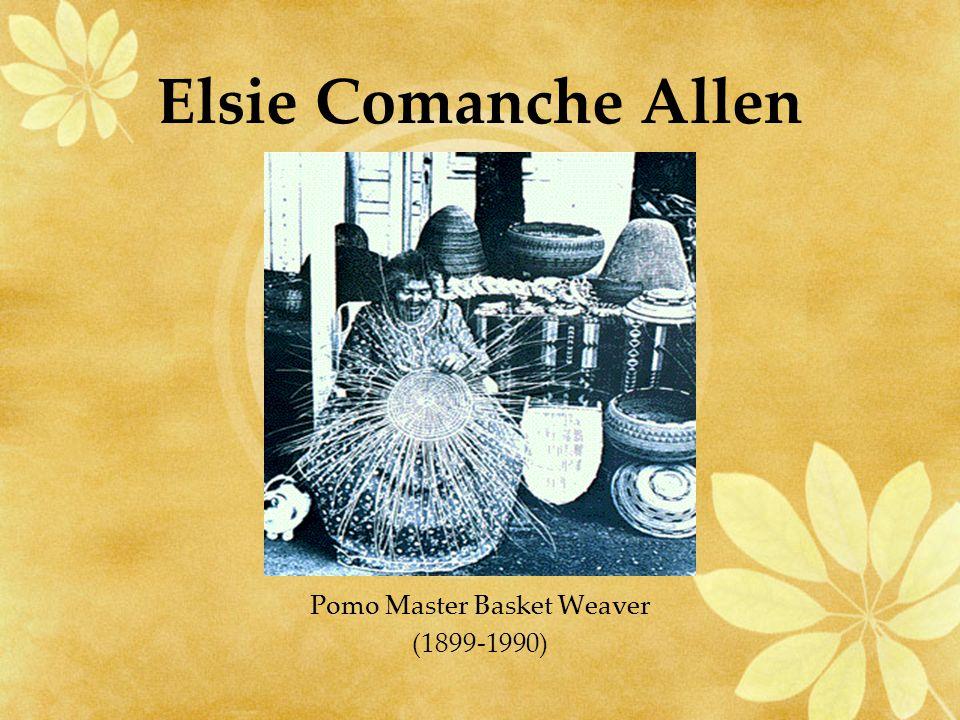 Elsie Comanche Allen Pomo Master Basket Weaver (1899-1990)