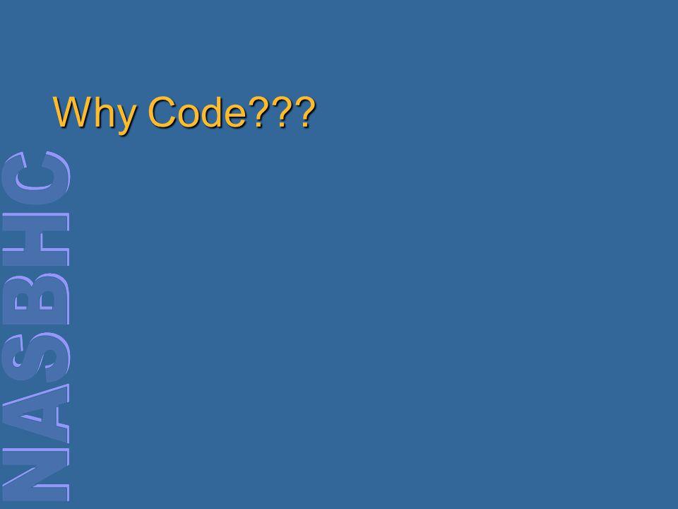 Why Code