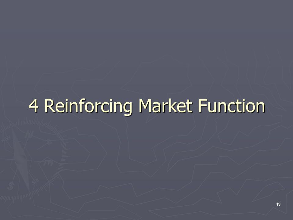 19 4 Reinforcing Market Function