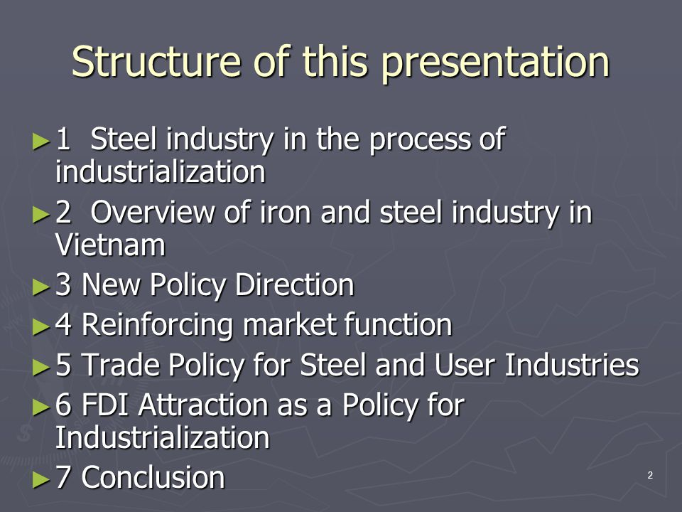 13 The Market Structure is Changing ► 1990s  VSC Group: Major player for modernization ► Subsidiaries (TISCO, SSC, Danang Steel, Cevimetal) ► Foreign affiliated JVs (Vina Kyoei, VSC-POSCO, Vinausteel, SSSC,etc)  Small companies and households ► Opportunistic entry and exit ► Outdated technology ► Now  VSC Group ► 2.7 mil ton of annual capacity  Private and 100% FDI companies (Hoa Phat, Pomina, Sunsteel, etc) ► 2.23 mil.