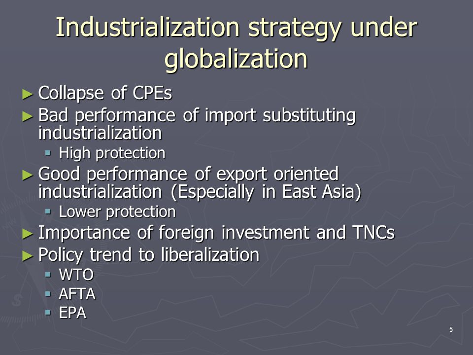 6 Steel strategies have changed in advanced ASEAN countries ► Until the midst of 1980s  State-led promotion  Central state of SOE  Creation of integrated steel works  High level protection  Center industry for import substituting industrialization ► From the late 1980s  FDI and private sector- led promotion  Major role of FDI and local business group  Incremental building from downstream to upstream processes  Reasonable level of protection  Backseat player for export-oriented industrialization