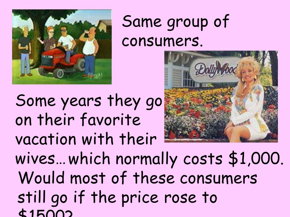 Same group of consumers.